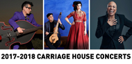 Our 2017-2018 Carriage House Concert Season!