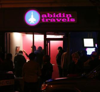 Abidin Travels Opening Reception Exterior 1