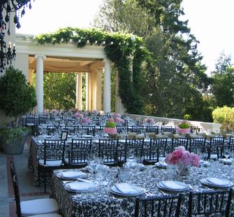 Reception on the Veranda