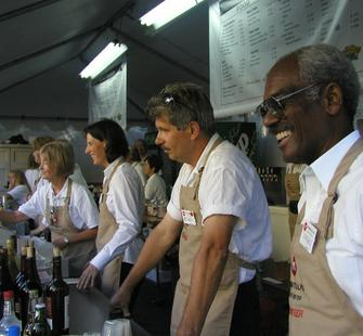 Volunteers serve as event hosts and greet visitors at theatre-based events throughout the year.