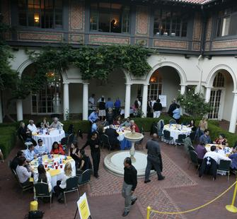 An event in the Spanish Courtyard