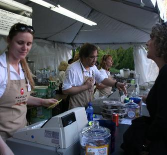 Event Host volunteers