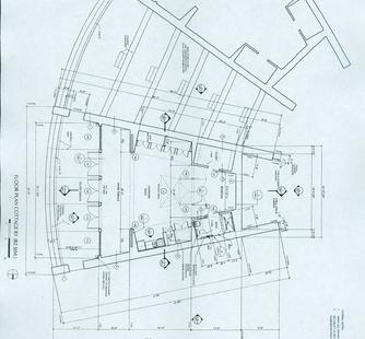 Floor Plan of Studios 20 and 21