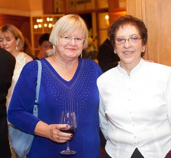 Sue Fettchenhauer and Martha Swartz