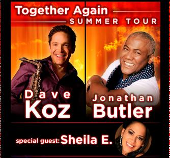 Dave Koz and Jonathan Butler with special guest Sheila E.