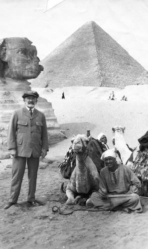 Senator Phelan in Egypt, 1922