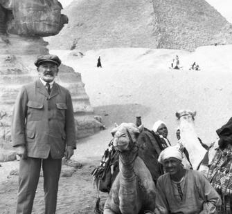 Senator Phelan in Egypt, 1922