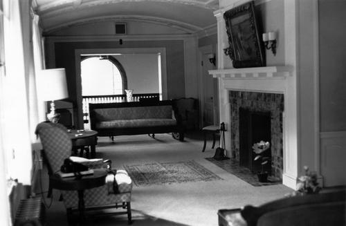 Montalvo's 2nd floor gallery, 1968