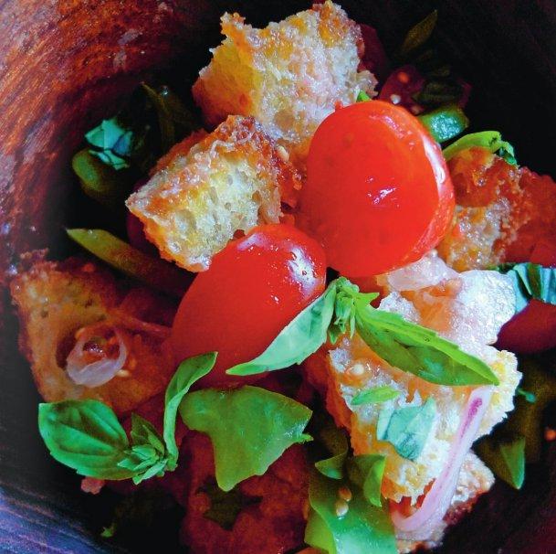 Calabrian Bread Salad