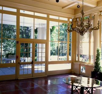 The Solarium inside the Historic Villa