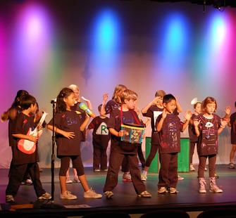 A youth stage production