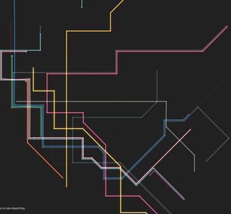 """MTA.ME"" (2011) by Alexander Chen"