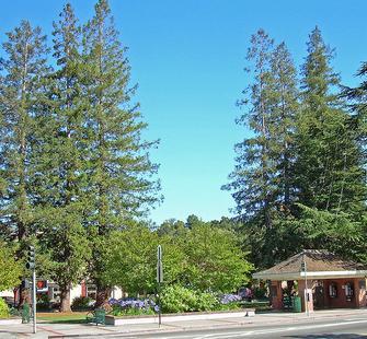 Los Gatos Town Plaza