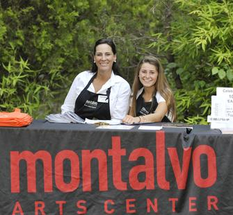Happy Montalvo Volunteers