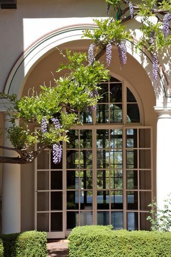 The intimate historic Villa