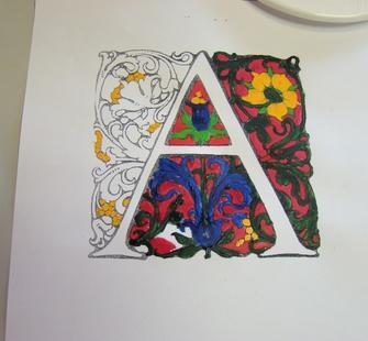 """An artistic """"A"""""""