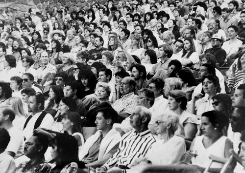 Montalvo crowd