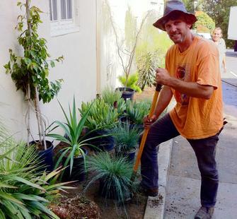 Garden Curator Delmar McComb