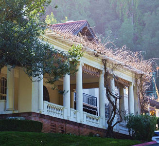 North face of Villa, cropped