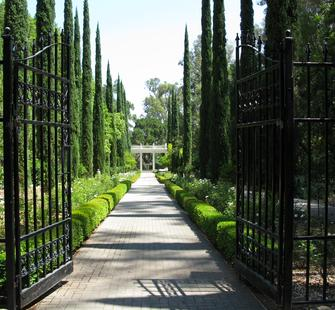 Entrance to Italianate Garden
