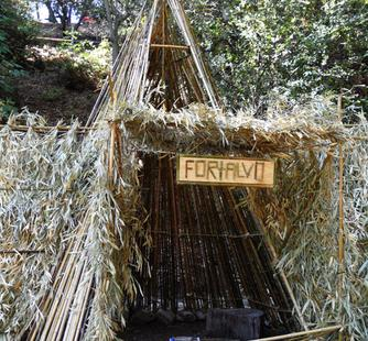 """Kids created """"FORTALVO"""" in fort-building camp!"""