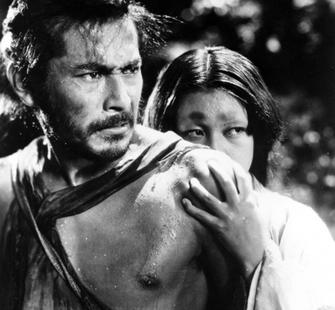 "A frame from the 1950 film ""Rashomon,"" directed by Akira Kurosawa"