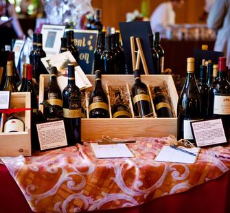 Lots of wines to choose from at Food & Wine