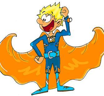 Superhero Boy!