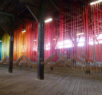 "Tiffany Singh, ""Knock On the Sky Listen To The Sound,"" Pier 2/3 Walsh Bay, Sydney, 2012"