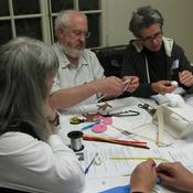 Teachers at an Arts in Your Classroom workshop