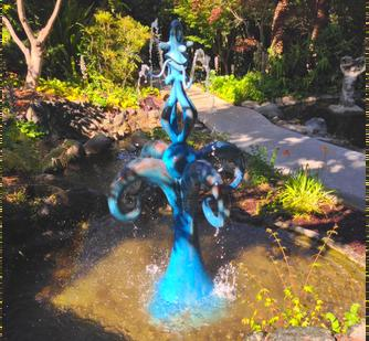 "Kenny Scharf, ""Fountain of Life,"" 2000"