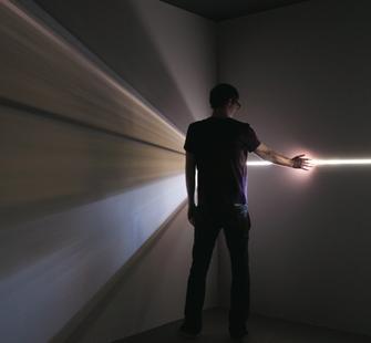 "Chris Fraser, ""DMH = Developing a Mutable Horizon,"" Yerba Buena Center for the Arts, 2011."