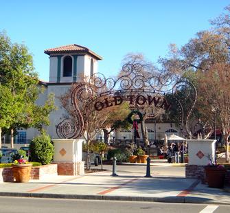 Old Town Los Gatos Shopping Center