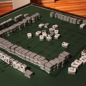 Paper Mahjong Set by Imin Yeh