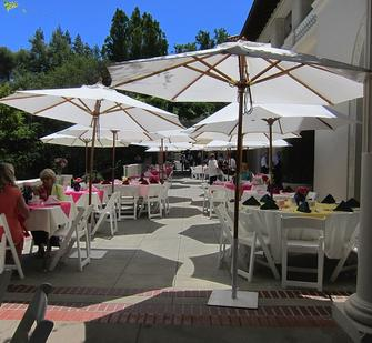 Dine on the lovely front veranda!