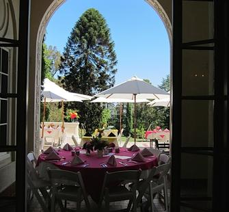 Dine with a view of the Great Lawn