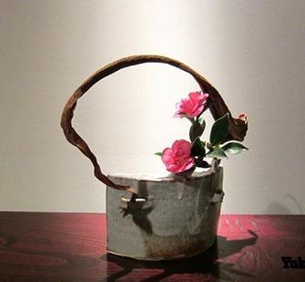 An Ikebana arrangement