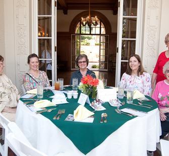Summer Luncheon at the Villa