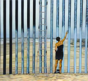 "Ana Teresa Fernandez, ""Erasing the Border (Borrando la Frontera)"", 2013"
