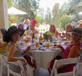 A Summer Luncheon on the veranda