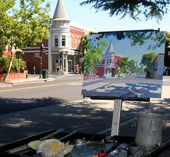 Los Gatos Plein Air
