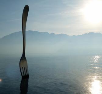 """Art Basel: Jean-Pierre Zaugg, """"Fourchette de l'Alimentarium"""" (20"""