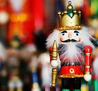 eBlast header for MSG Nutcracker Yuletide