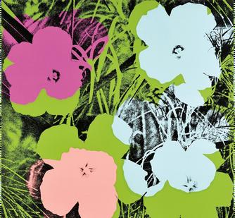 "Andy Warhol, ""Flowers"""