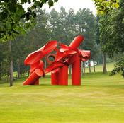 'Iliad' by Alexander Liberman at the Storm King Art Center