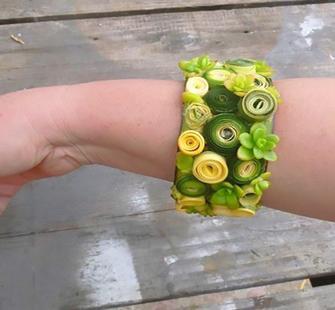 A Succulent Bracelet