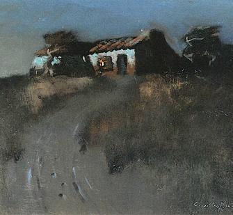 Plein Air Painting Noir