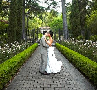 The Italianate Garden is perfect for weddings