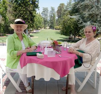 A Summer Luncheon on the veranda