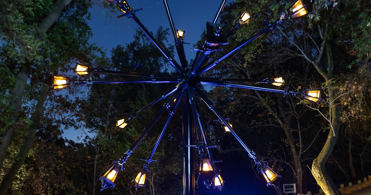 montalvo arts center news bruce munro stories in light opens